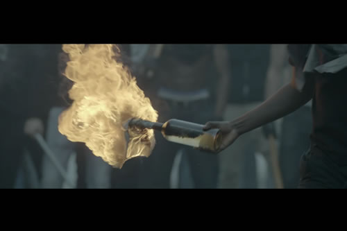 Jay-Z & Kanye West No Church in the Wild Video w/ Frank Ocean