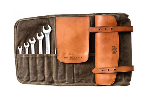 Makr x Deus Tool Roll Bag