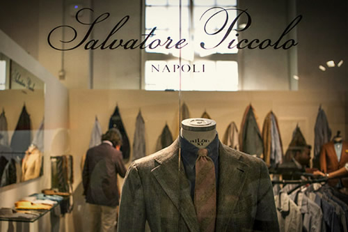 Salvatore Piccolo at Pitti Uomo 82 Spring/Summer 2013