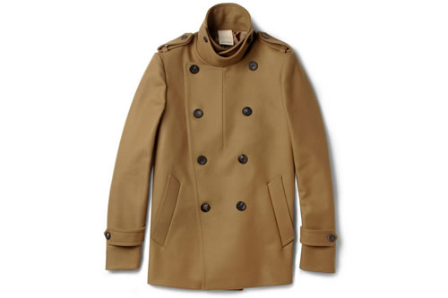 Wooyoungmi Camel Peacoat for F/W 2012