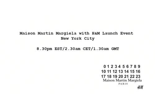 Maison Martin Margiela for H&M Fall/Winter 2012 NYC Launch Video Recap