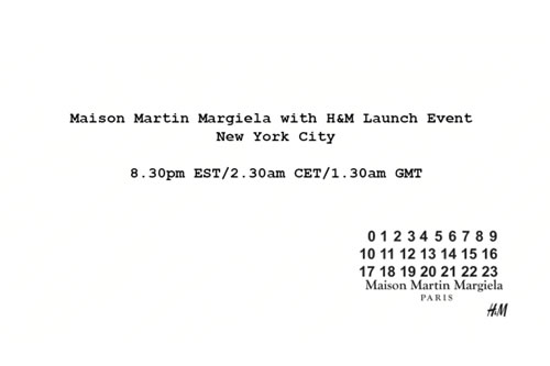 Maison Martin Margiela for H&M Fall/Winter 2012 NYC Launch Video Recap