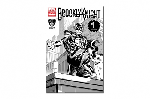 Marvel x Brooklyn Nets | BrooklynKnight, NBA's First Super Hero
