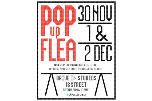 Menswear in NYC   5th Annual Pop Up Flea