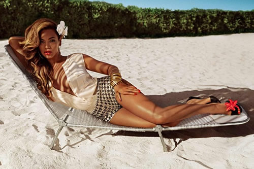 Beyoncé in H&M Summer Collection