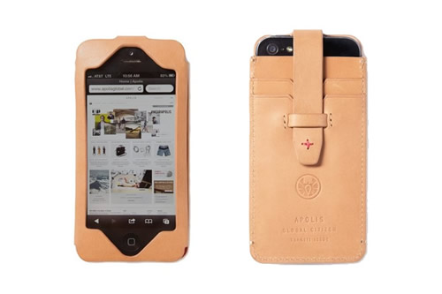 Now Available | Apolis Transit Issue iPhone 5 Wallet
