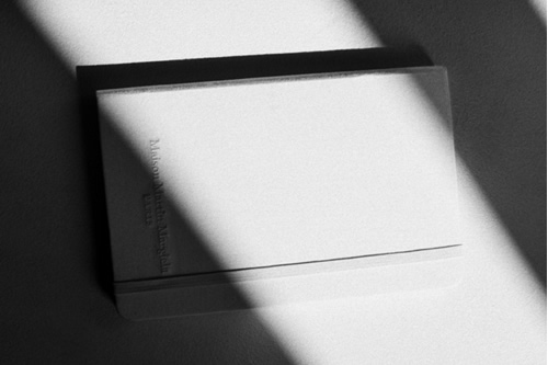 Maison Martin Margiela Limited Edition Moleskine Notebook for Japan
