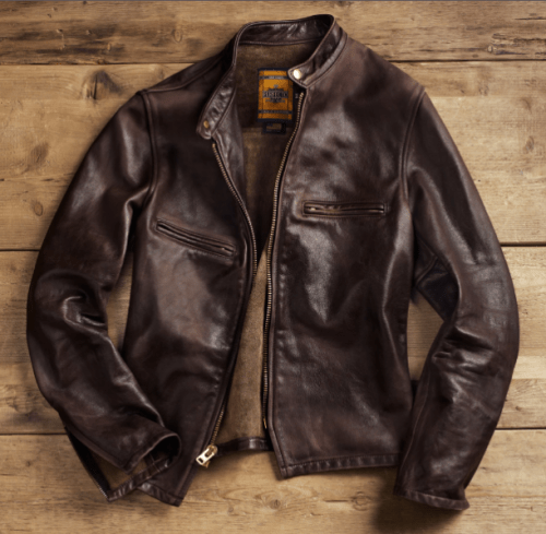 Schott NYC x Restoration Hardware Motorcycle Jacket