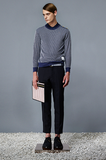 505913282d52 thom-browne-spring-summer-2014-lookbook-mens-8 - Por Homme ...