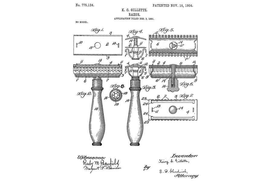 2-evolution-of-shaving-safety-razor-gillette