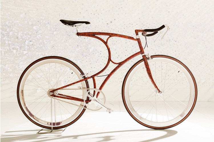 Vanhulsteijn Bicycles On Display at Paul Smith Milano