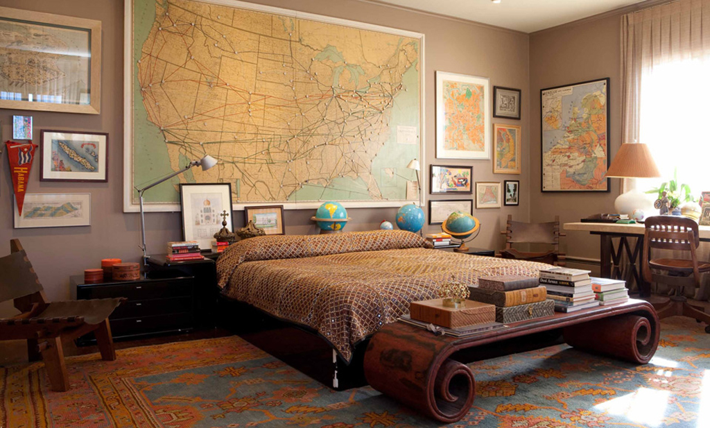 10 Awesome Masculine Bedrooms on Amazing Bedroom Ideas  id=79275