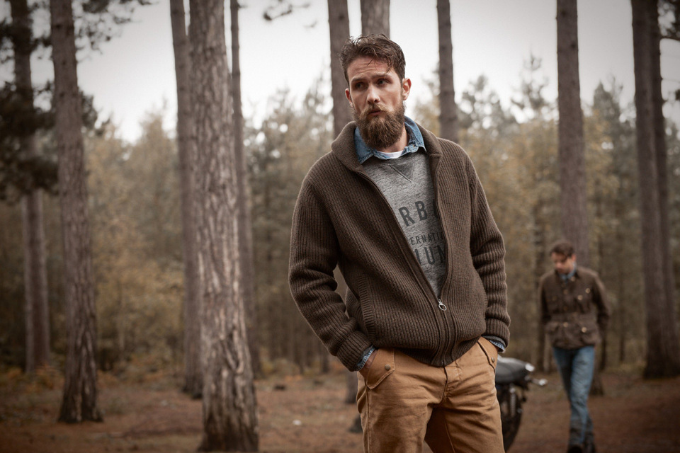 dc9c8ea42 Barbour and Triumph Motorcycles Fall/Winter 2015 Lookbook