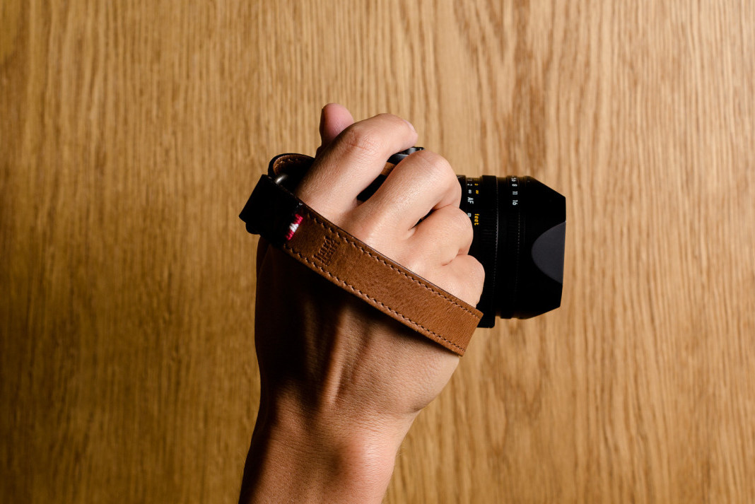 Check Out This Slide Camera Wrist Strap by Hard Graft