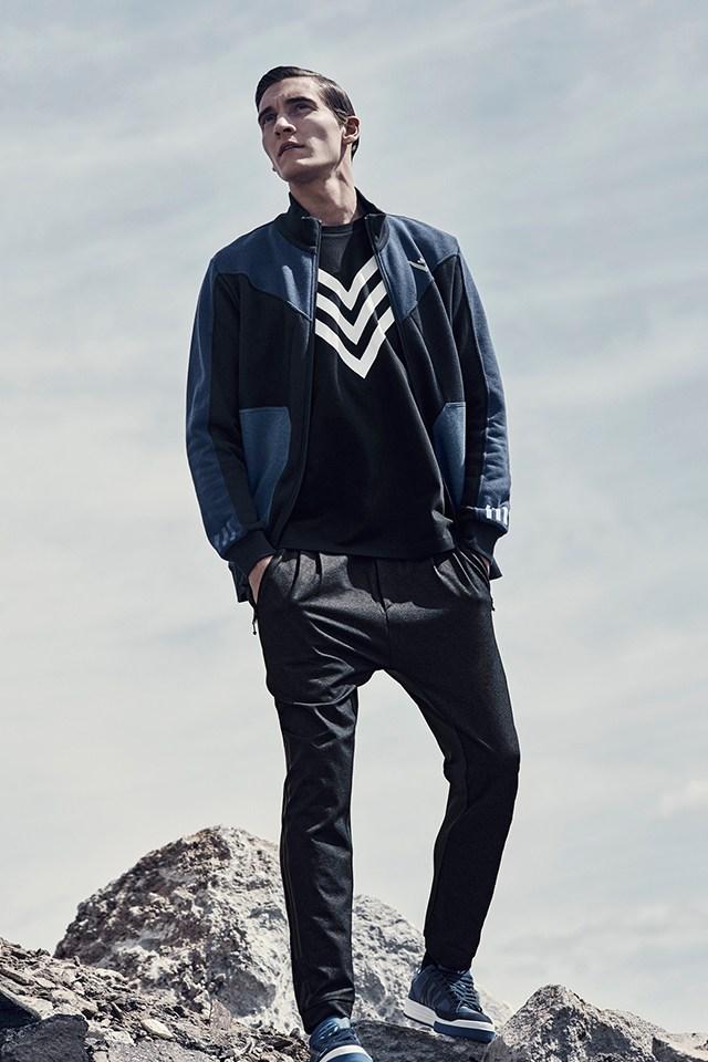 Adidas Originals x blanco Mountaineering debut colaboración lookbook