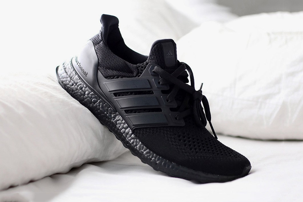 The Adidas UltraBOOST Triple Black Is Officially Releasing Next