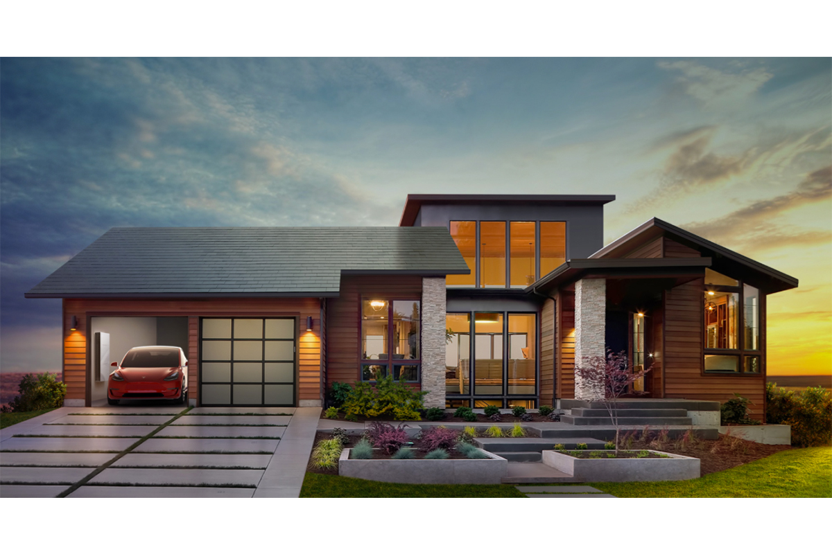 Solar Panel Roof Shingles >> Tesla Hopes To Take Over Housing Market With These Roof Shingle