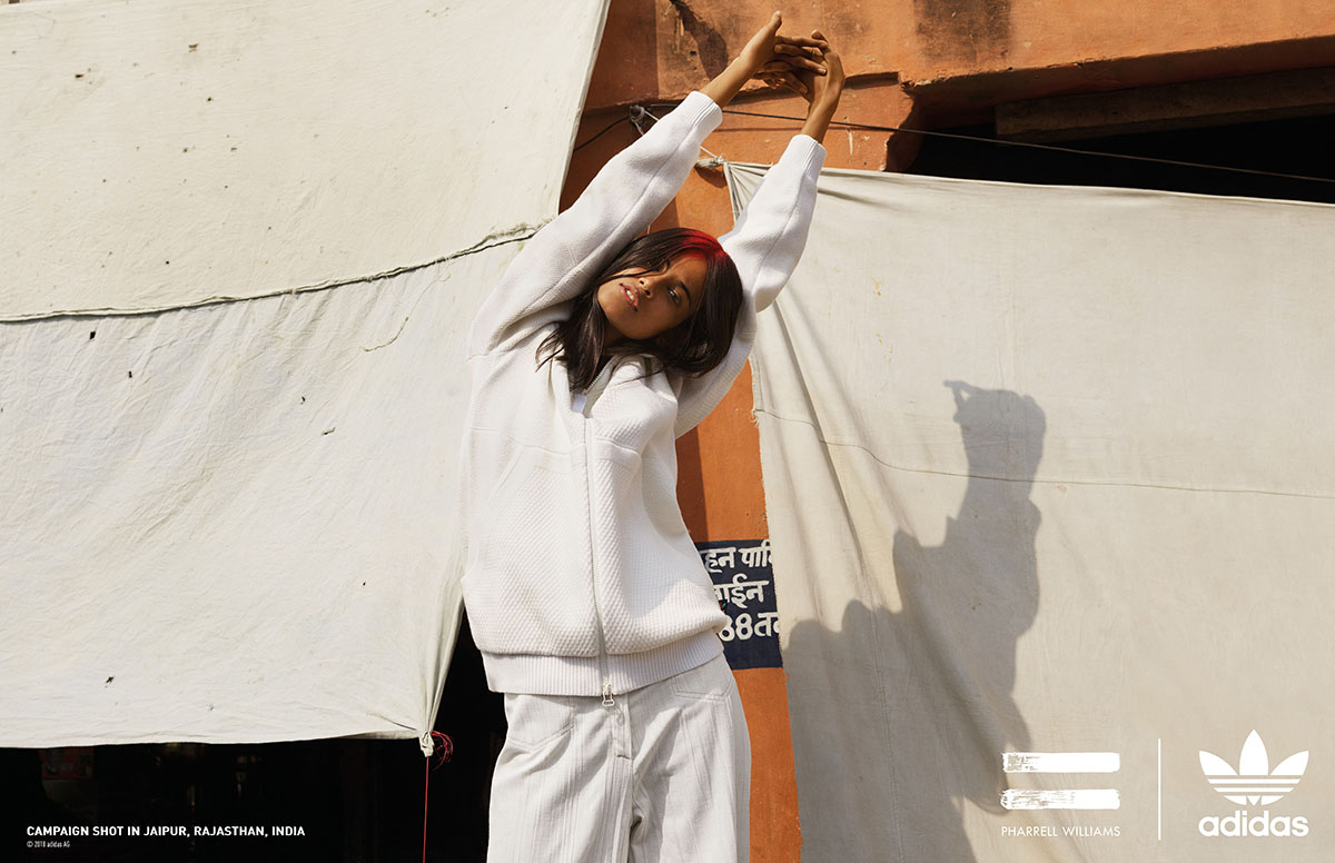 b2d01f7daf868 adidas Originals and Pharrell Drop All-White  Blank Canvas  Collection for  Spring Summer 2018