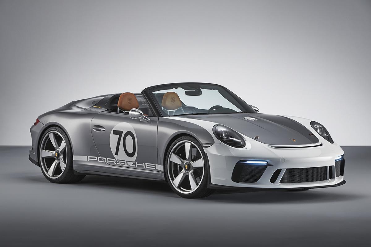 Porsche 911 Speedster Concept Sends Off 991 Generation With Nostalgia