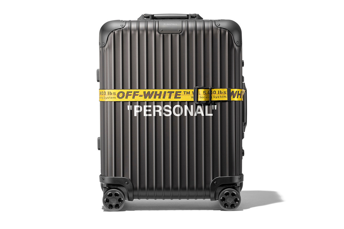 """RIMOWA Releases """"PERSONAL BELONGINGS"""" Off-White™ Collaboration"""