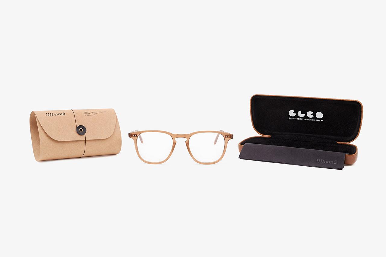 4f1e0b761a Garrett Leight x JJJJound Brooks 47 Eyeglasses Are Releasing This Month