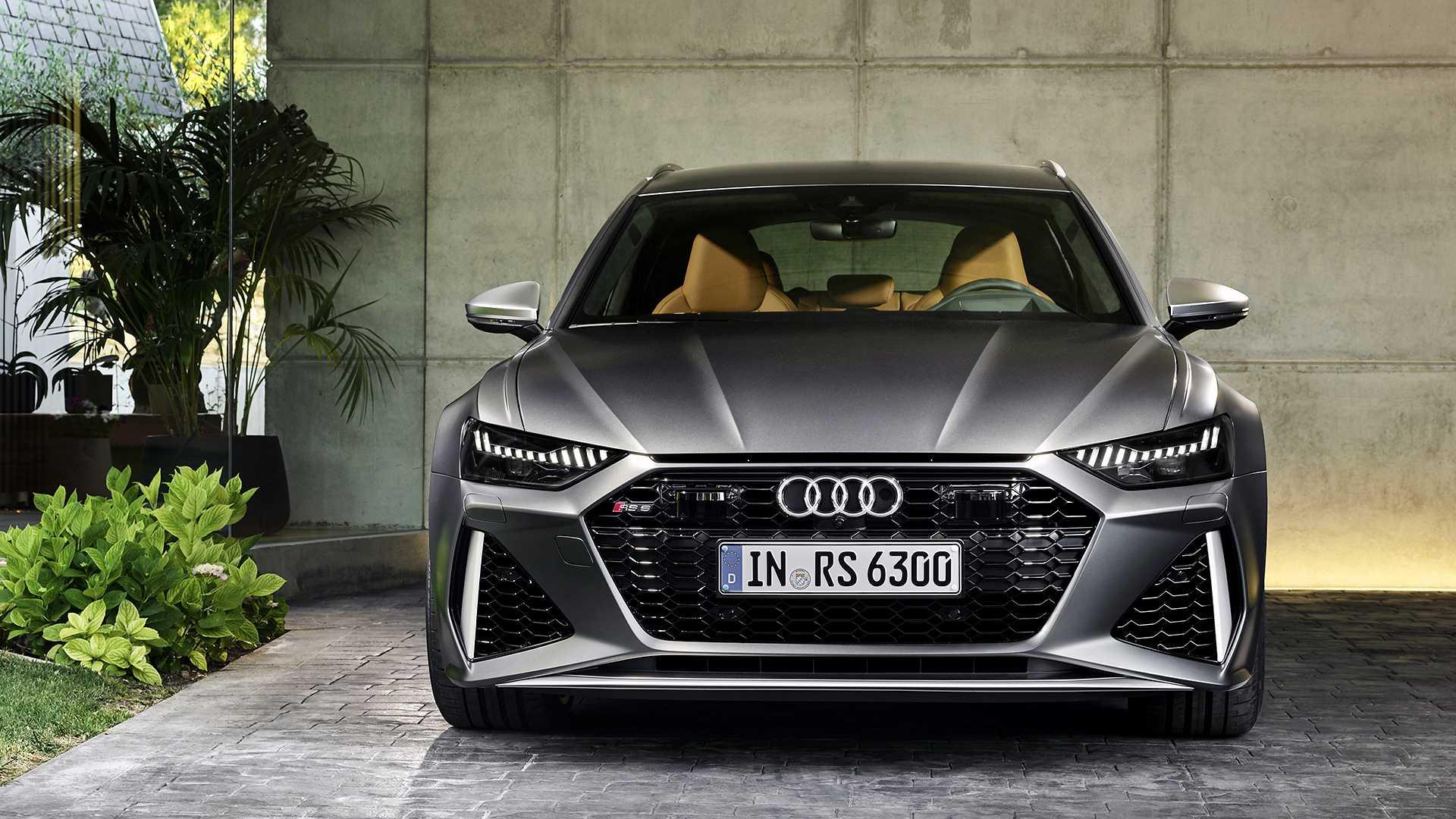 2020 Audi RS6 Avant   591-Horsepower Wagon Is Officially ...