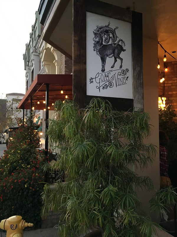 entrance to The Goat & Vine