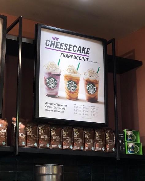 Cheesecake frappuccino flavors in Scotland