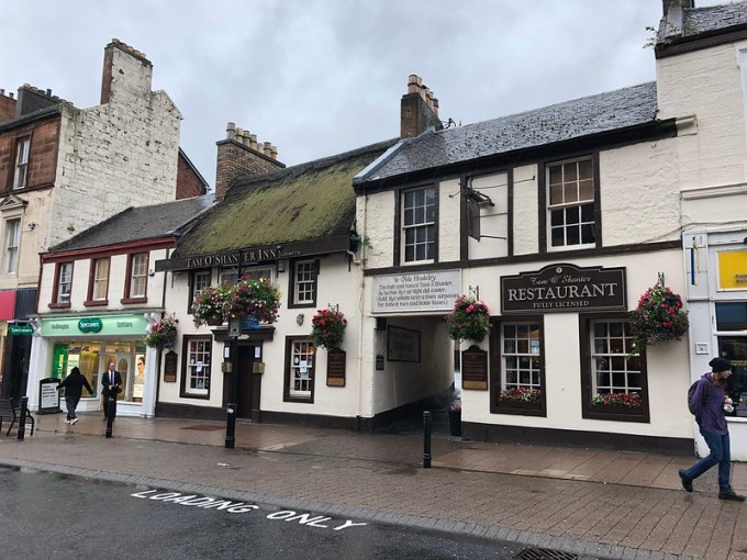 Tam O'Shanter Inn in Ayr