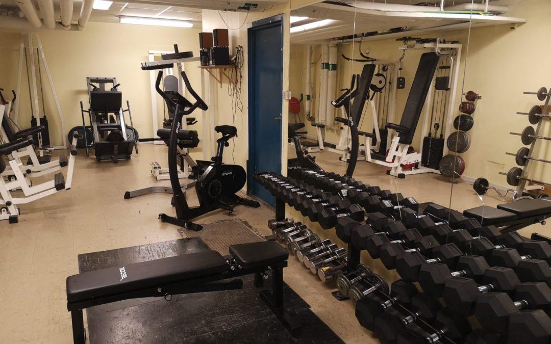 Ny utrustning till föreningens gym