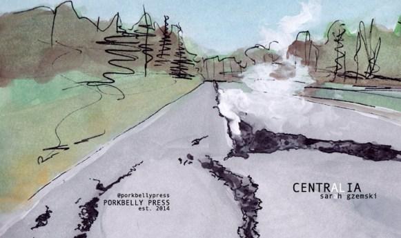 Centralia by Sarah Gzemski (cover: Nicci Mechler)
