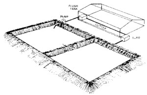 1. Perspective showing the components of a flush gutter system.