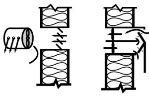 """Figure 2. Examples of air """"blenders,"""" —not heat exchangers."""