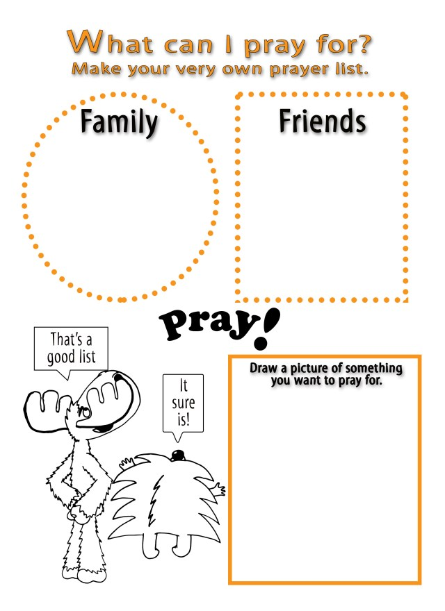 Hear My Prayer Activity Page4