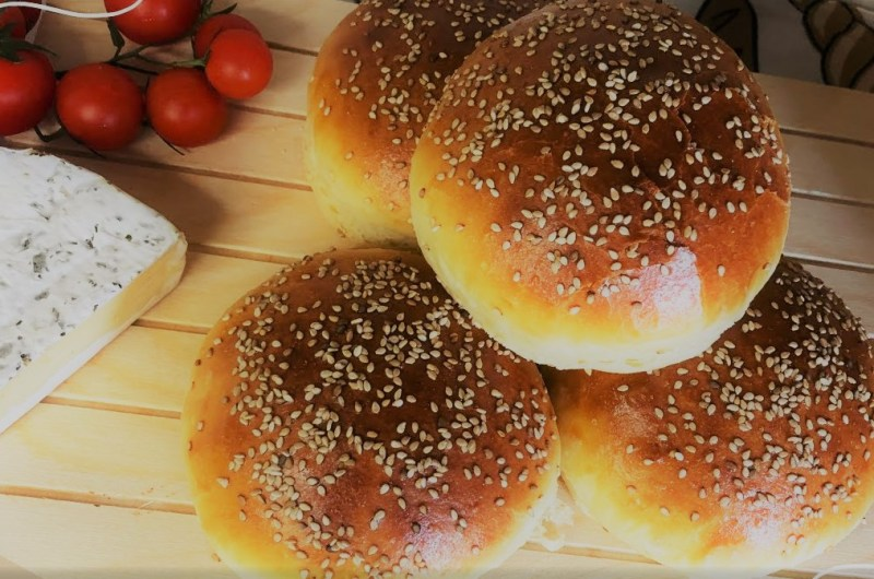 Pão de Hambúrguer (super macio)