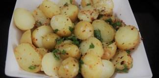 salada de batata com pimenta calabresa