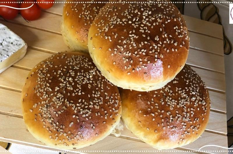 A melhor receita de pão de hamburguer