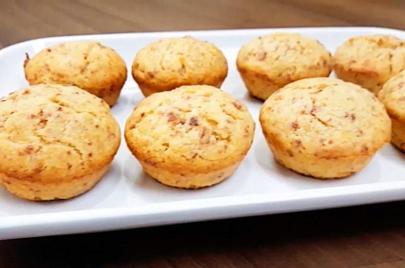 Muffin Salgado de Calabresa