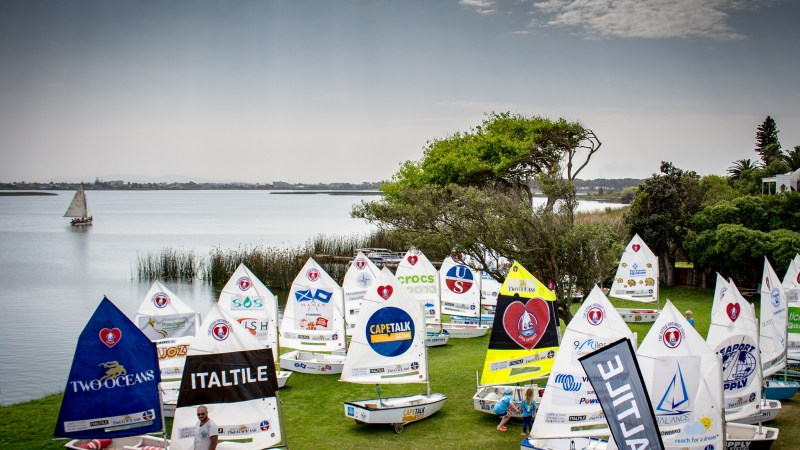 40 Charities ready to set sail at The Great Optimist Race