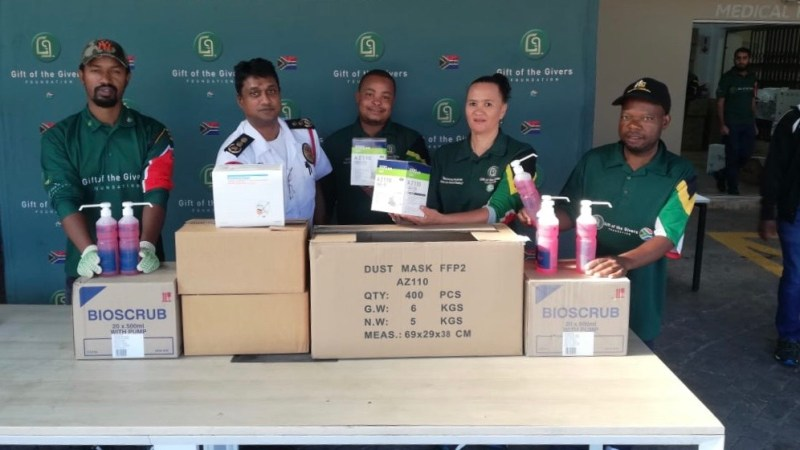 #Covid19SA: Gift of The Givers crowdfund  almost R250k, distribute medical supplies to doctors