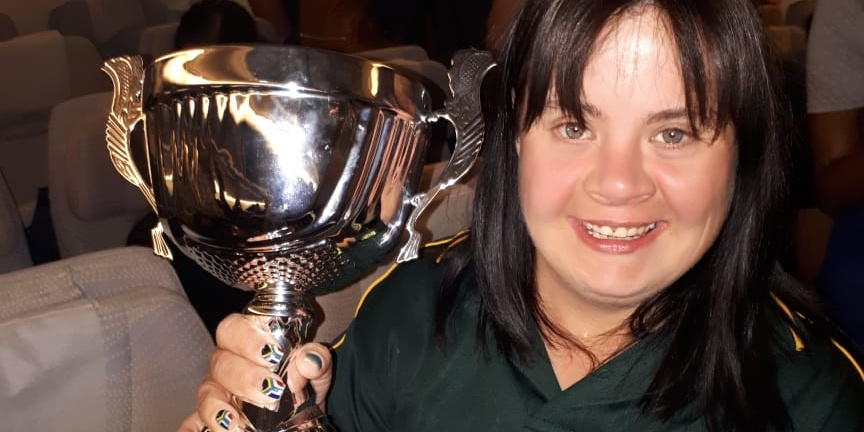 Table Tennis Champion with Down Syndrome to participate in a major tournament.