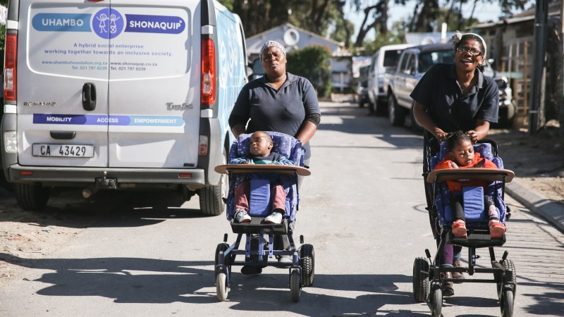 Shonaquip crowdfunds to continue wheelchair outreach after protest destroys their vehicle