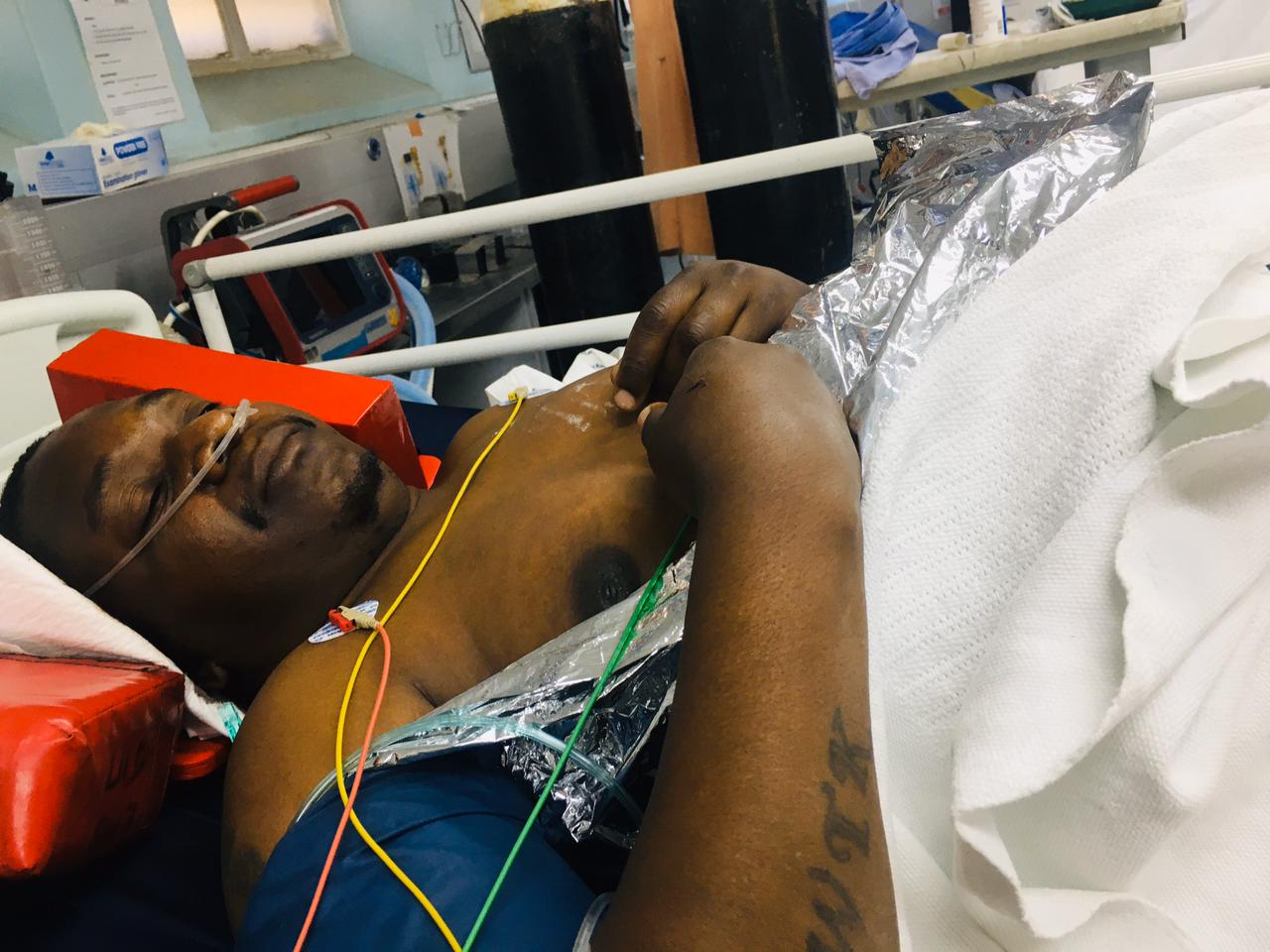 Family man left paralysed after armed robbery gone wrong