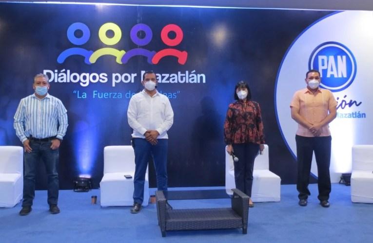 "FOROS ""DIALOGOS POR MAZATLÁN"" PERMITE FORTALECER AL PANISMO PORTEÑO: ROBERTO GONZALEZ GUTIERREZ."