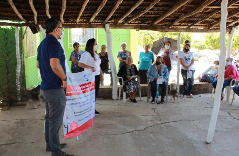 Inicia JUMAPAM jornada informativa en poblados con sequía