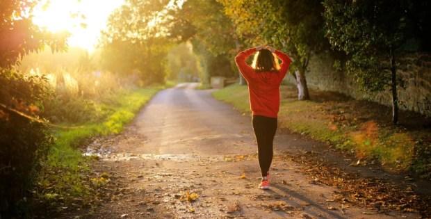 Caminar para despejar la mente