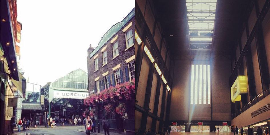borough market tate modern londres