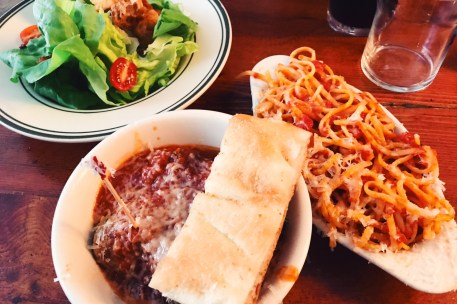 restaurantes em NYC the meatball shop