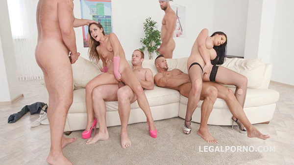 [LegalPorno] So fucking What Part 2 – 7on2 with Amirah Adara and Jolee Love – GIO692 [720p]
