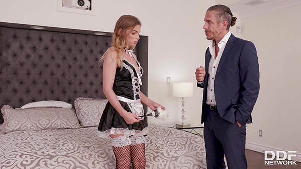 [HandsOnHardcore – DDFNetwork] Sydney Cole – Defiant Maid Fucked Hard [1080p]